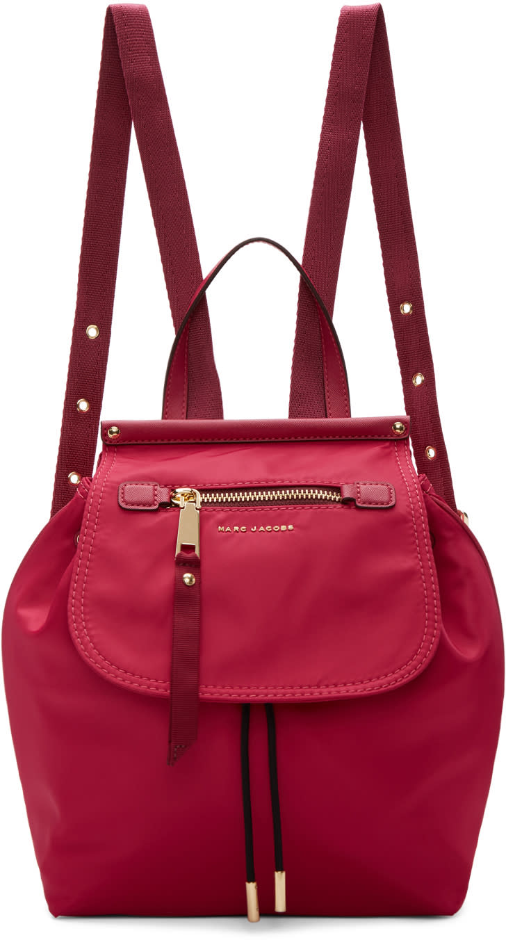 marc jacobs female marc jacobs pink trooper backpack