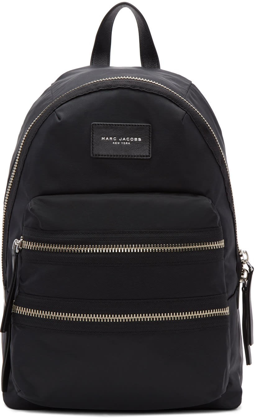 Image of Marc Jacobs Black Biker Backpack