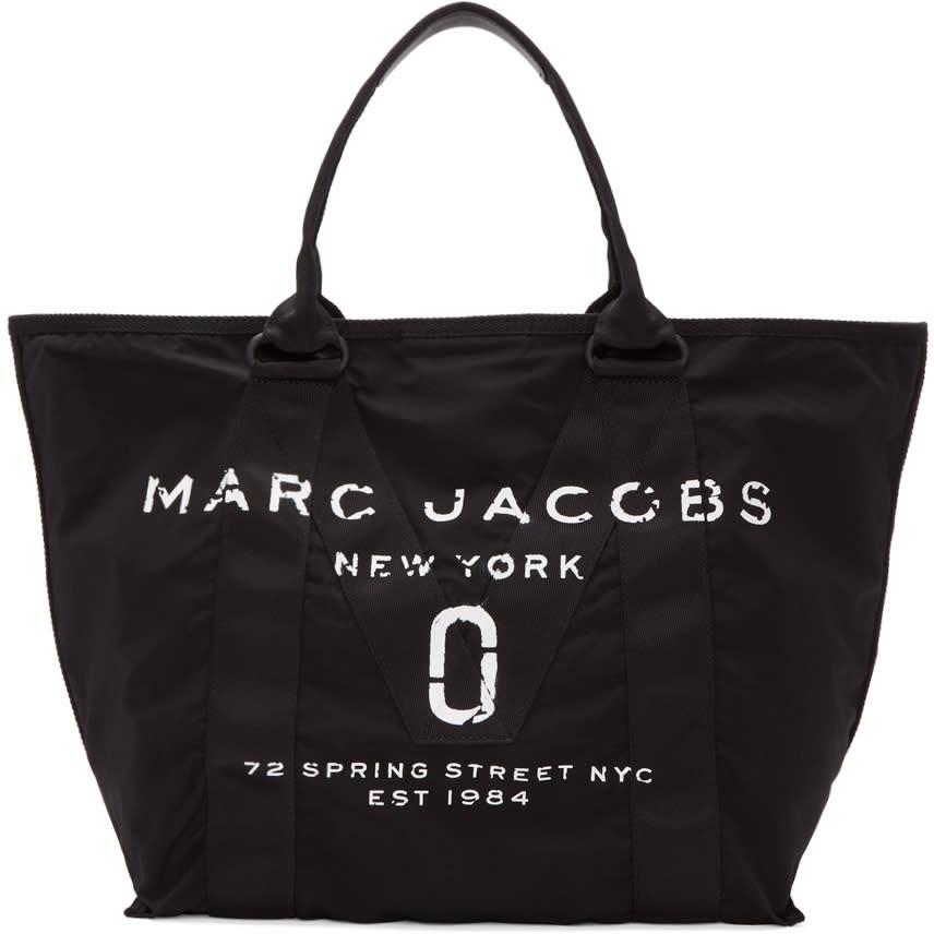 marc jacobs female marc jacobs black new logo tote