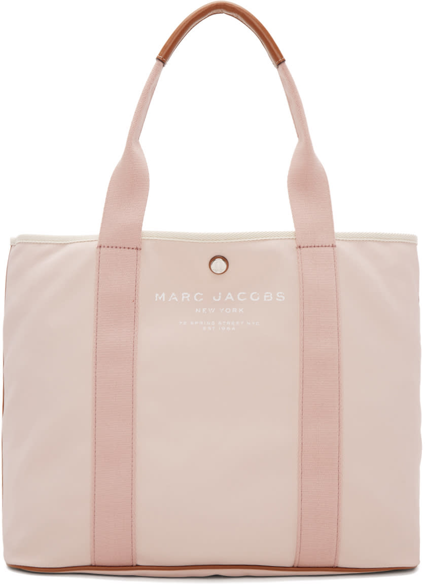 marc jacobs female marc jacobs pink eastwest tote
