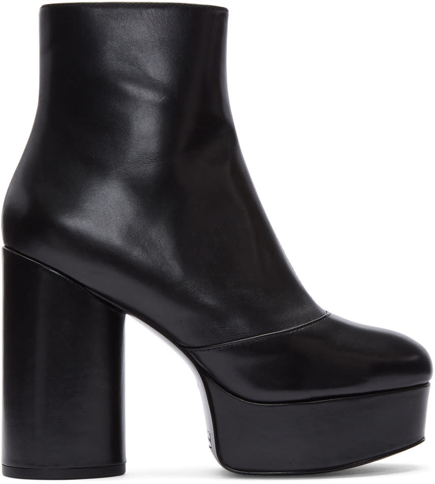 Marc Jacobs Black Amber Platform Boots