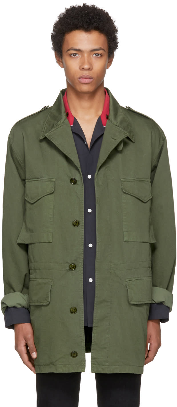 Marc Jacobs グリーン フィールド ジャケット