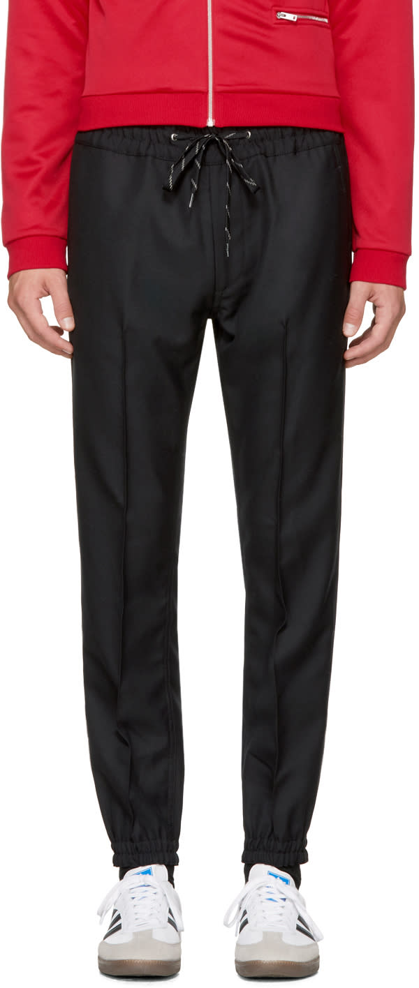 Image of Marc Jacobs Black Cuff Trousers