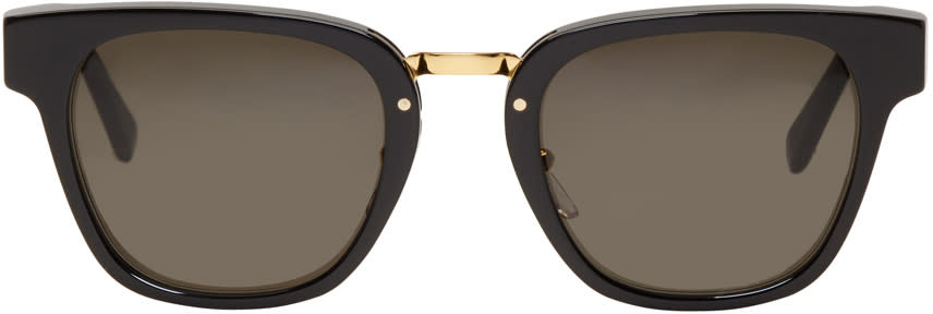 Image of Super Black Giorno Sunglasses
