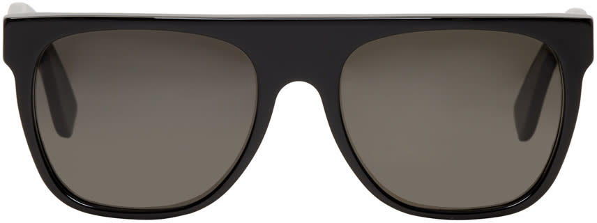 Image of Super Black Flat Top Sunglasses