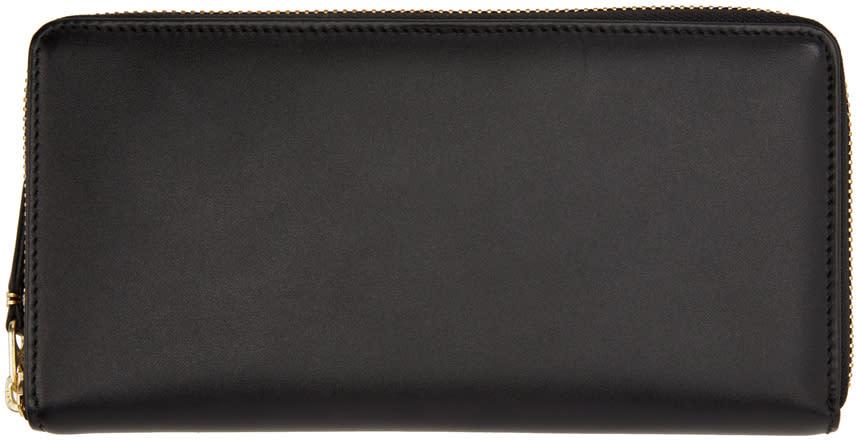 Image of Comme Des Garçons Wallets Black Continental Wallet