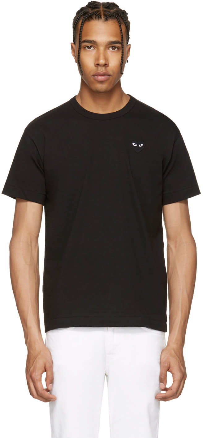 Comme Des Garcons Play Black Heart Patch T-shirt