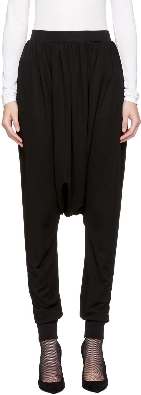Balmain Black Sarouel Lounge Pants