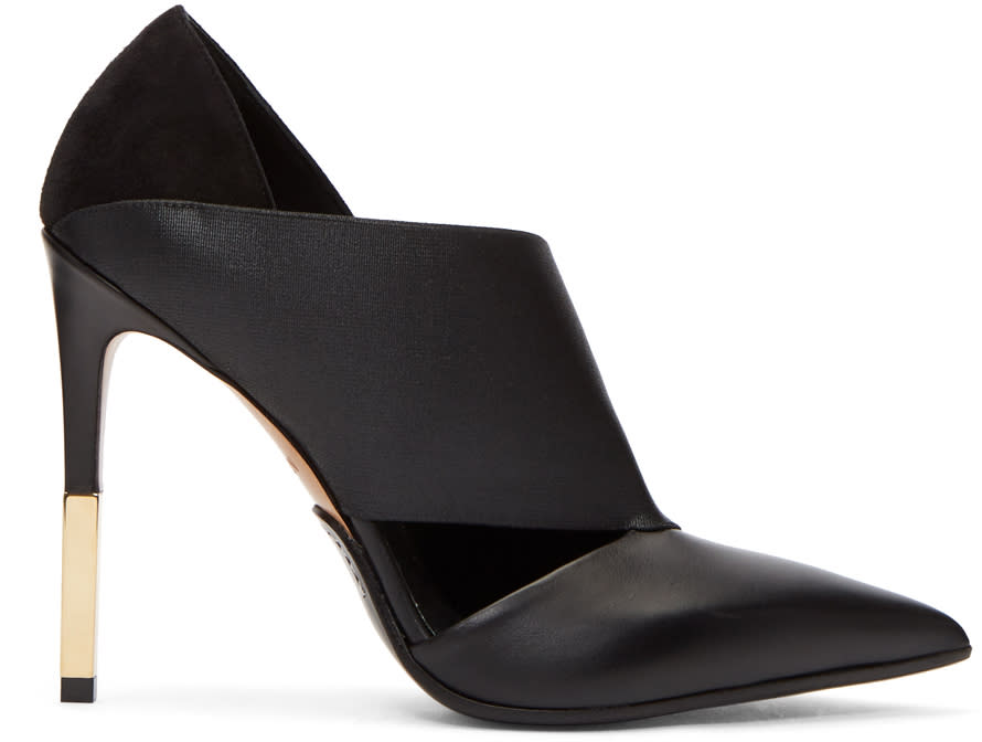 Image of Balmain Black Audrey Heels