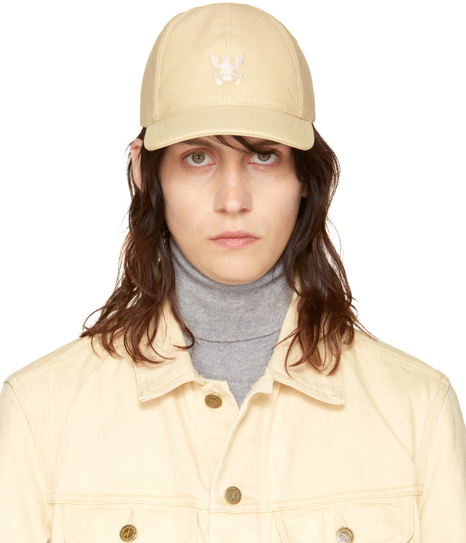 Image of A.p.c. Beige Louis Cap