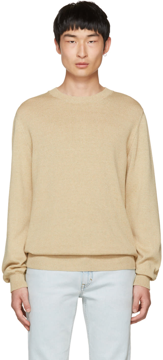 Image of A.p.c. Beige Norman Sweater