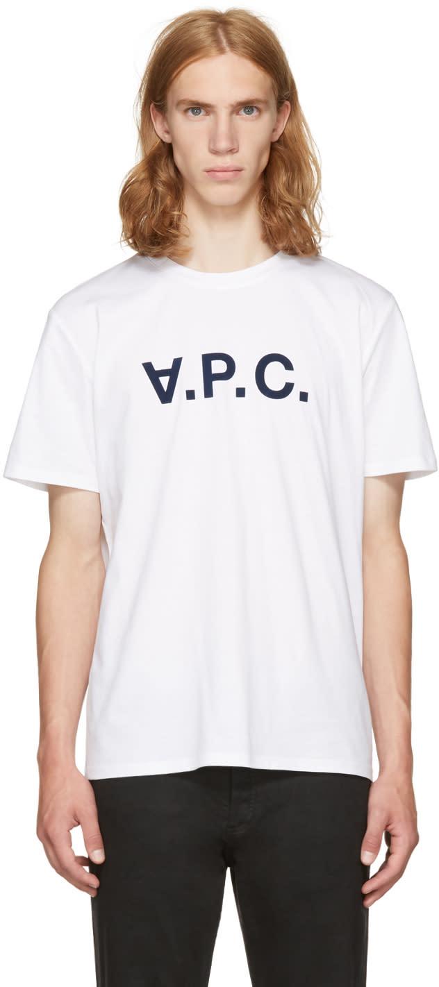 A.p.c. ホワイト V.p.c T シャツ