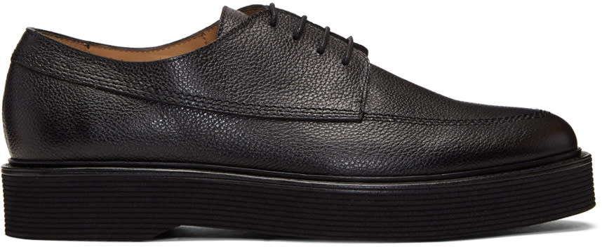 A.p.c. Black Armand Derbys