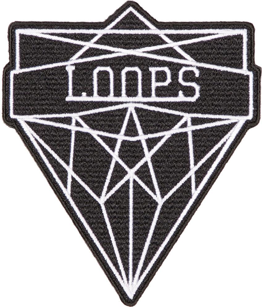 Image of Junya Watanabe Black and White loops Badge