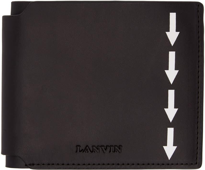 Image of Lanvin Black Arrow Wallet