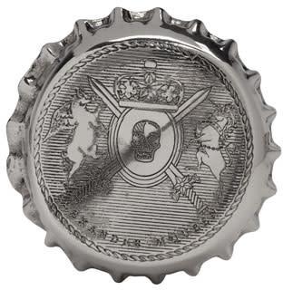 Alexander Mcqueen Silver Cap Ring