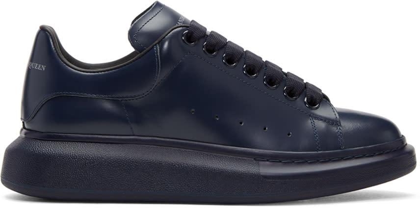 Alexander Mcqueen Navy Oversized Sneakers
