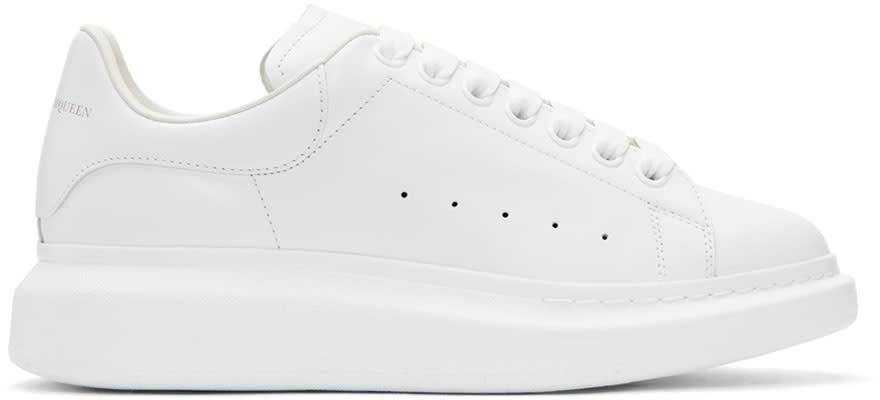 Alexander Mcqueen ホワイト オーバーサイズ スニーカー