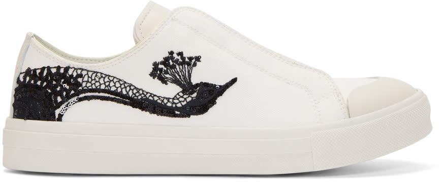 Alexander Mcqueen Off-white Peacock Sneakers