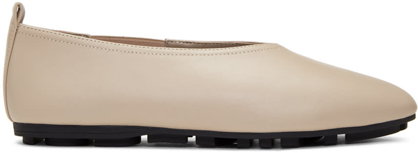Image of Opening Ceremony Beige Maia Ballerina Flats