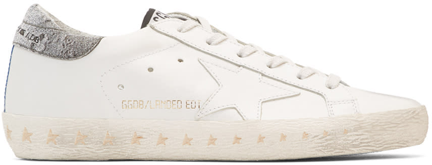 Golden Goose White Anniversary Limited Edition Superstar Sneakers