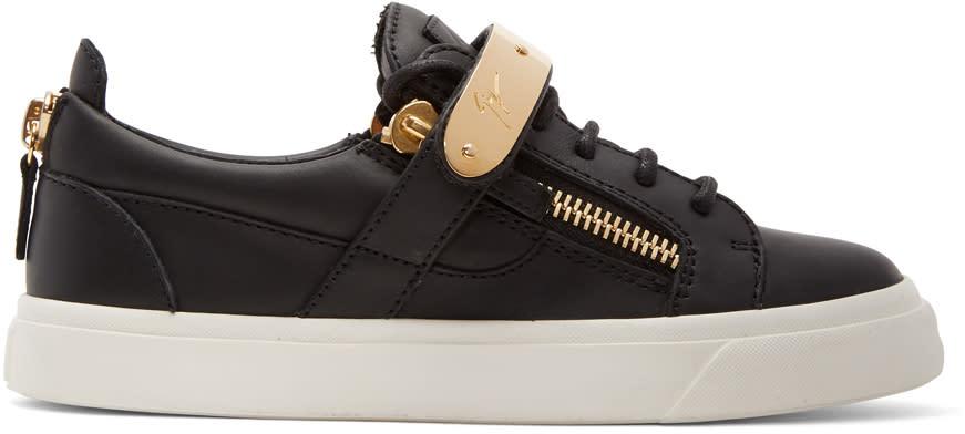 Giuseppe Zanotti Black London Sneakers