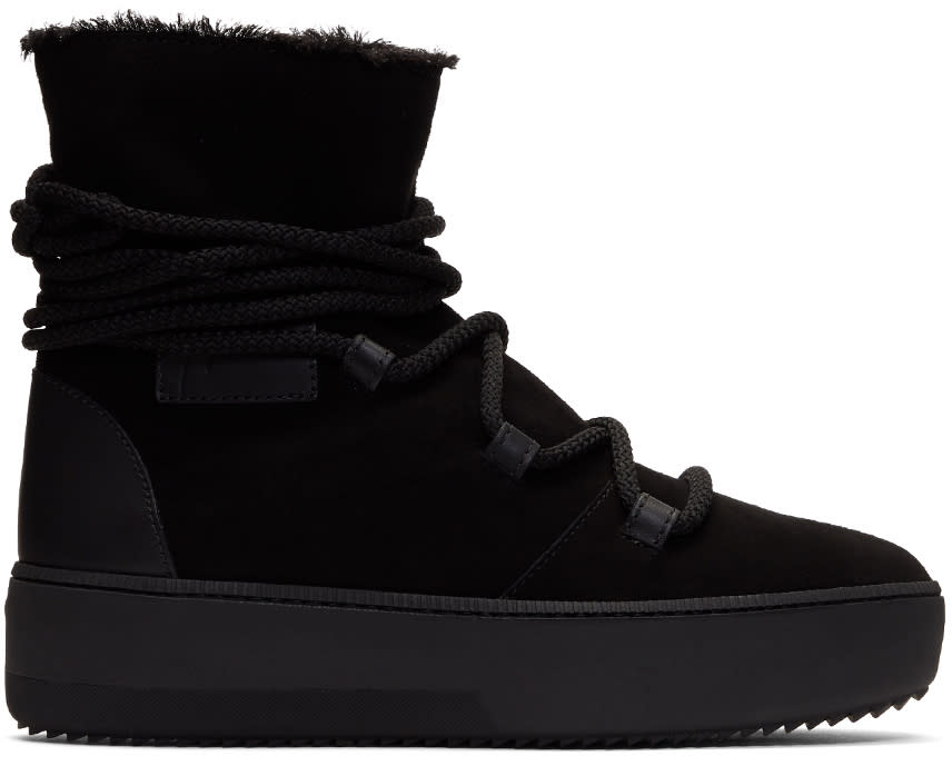 Image of Giuseppe Zanotti Black Allen High-top Sneakers