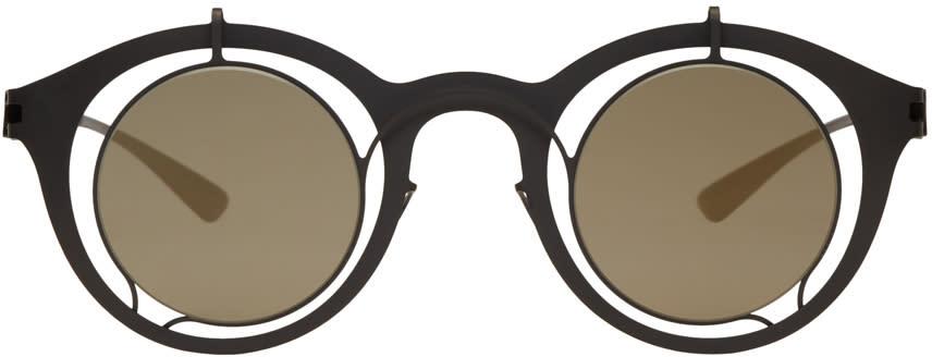Image of Damir Doma Black Mykita Edition Bradfield Sunglasses