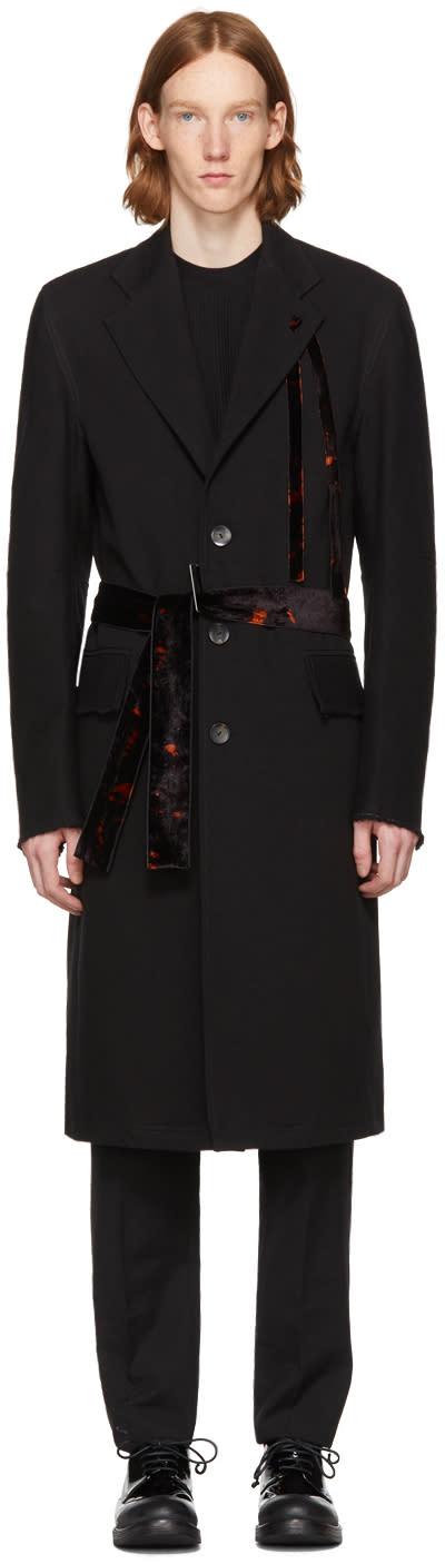 Image of Damir Doma Black Covi Coat
