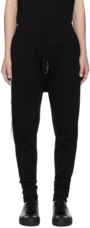 Image of Damir Doma Black Peken Lounge Pants