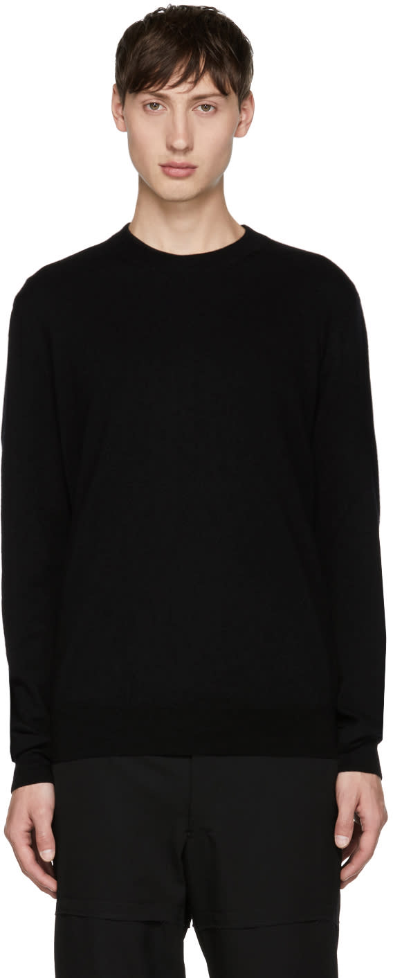 Image of Comme Des Garçons Shirt Black Fully Fashioned Sweater