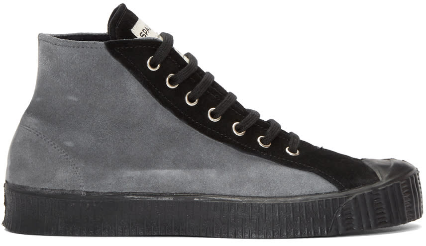 Comme Des Garcons Shirt Grey Spalwart Edition Sneakers