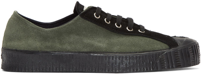 Comme Des Garcons Shirt Green Spalwart Edition Sneakers