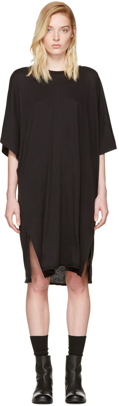 Image of Raquel Allegra Black Kimono Dress