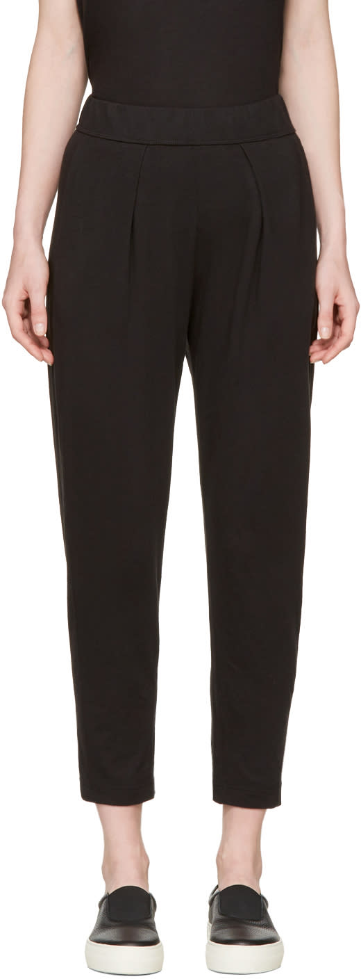 Raquel Allegra Black Easy Lounge Pants