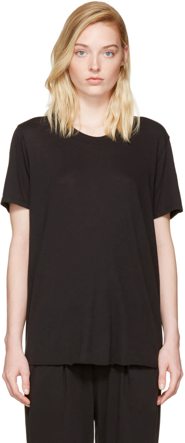 Image of Raquel Allegra Black Mens T-shirt