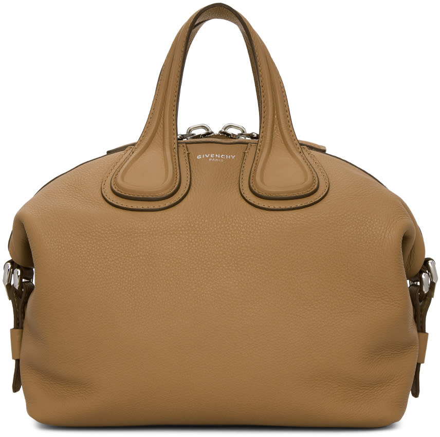 Image of Givenchy Beige Small Nightingale Bag