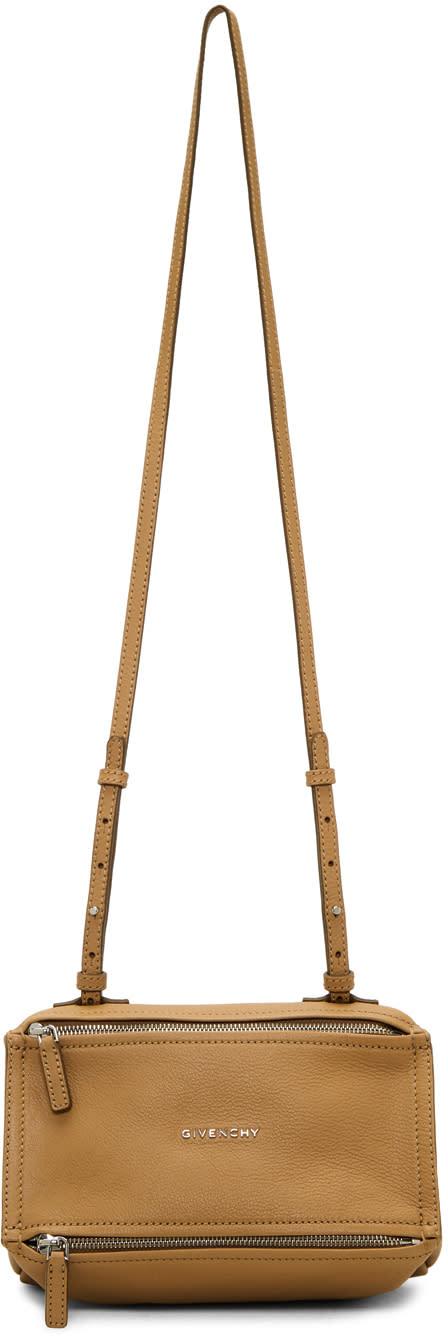 Image of Givenchy Beige Mini Pandora Bag