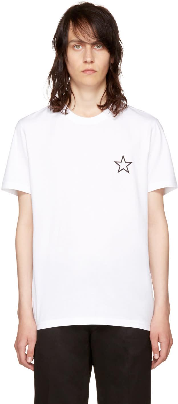 Givenchy ホワイト スター T シャツ