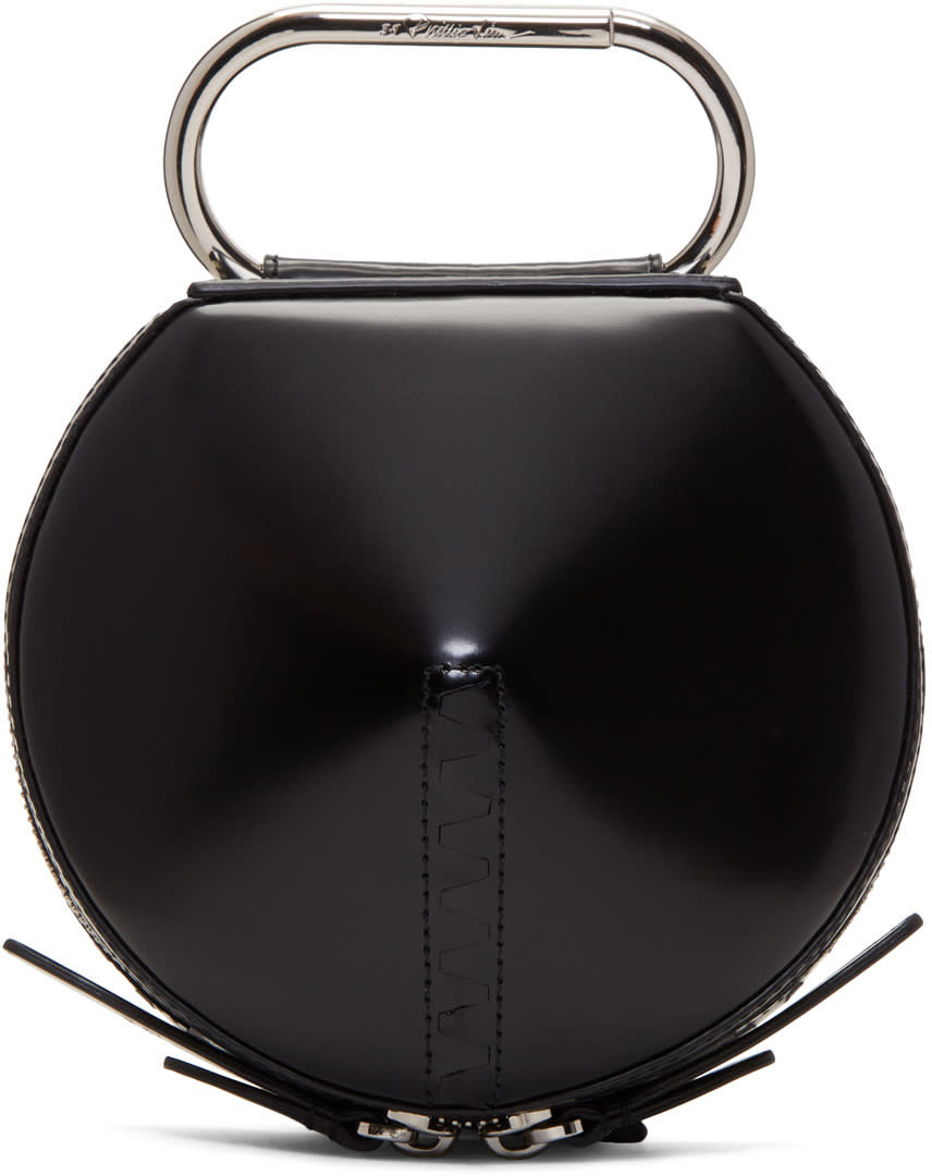 Image of 3.1 Phillip Lim Black Alix Circle Clutch