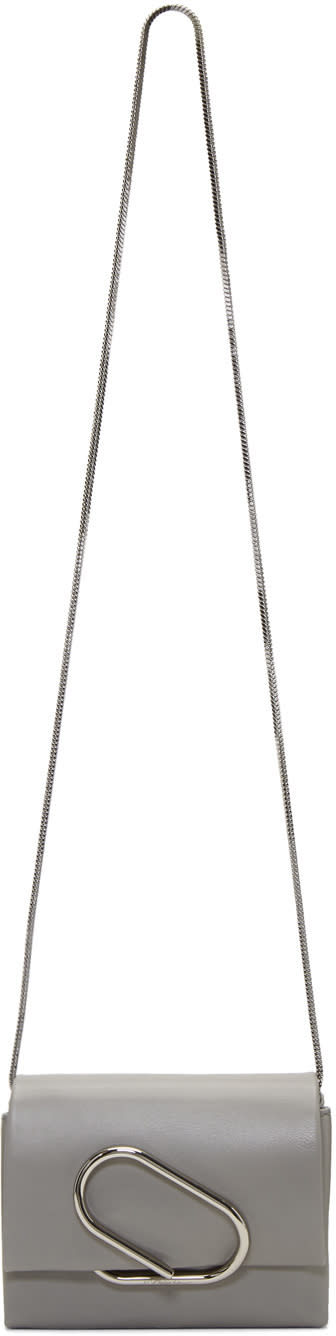 31 phillip lim female 31 phillip lim grey micro alix crossbody bag