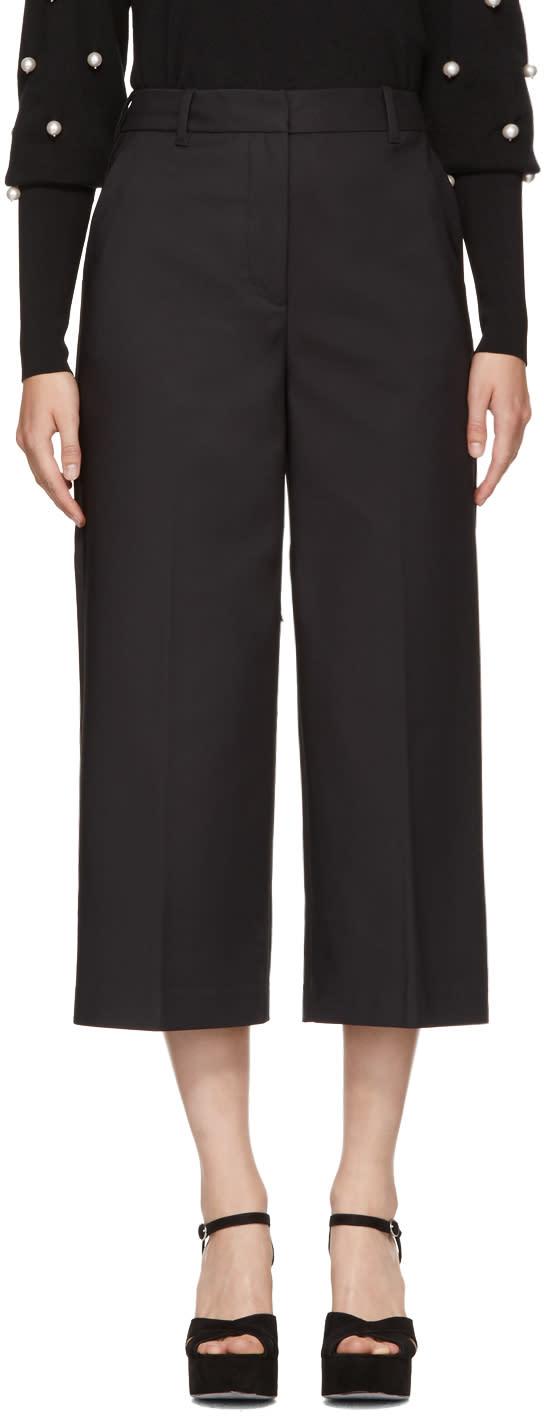 31 phillip lim female 31 phillip lim black wideleg cuffed trousers