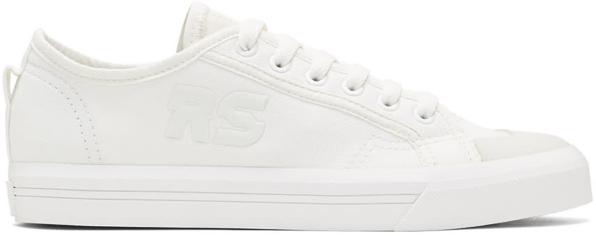 Raf Simons Baskets Blanc Cassé Spirit V édition Adidas Originals