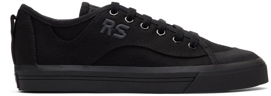 Image of Raf Simons Black Adidas Originals Edition Spirit V Sneakers