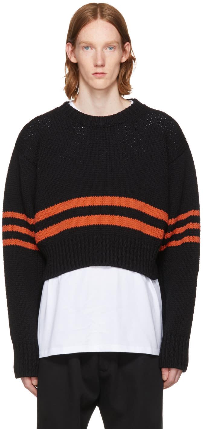 Image of Raf Simons Black Americano Sweater