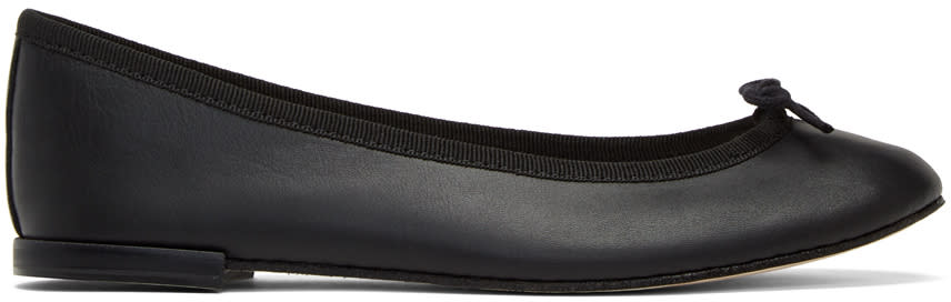 Repetto Black Cendrillon Ballerina Flats