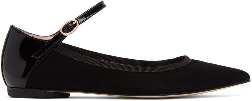 Repetto Black Clemence Mary Jane Ballerina Flats
