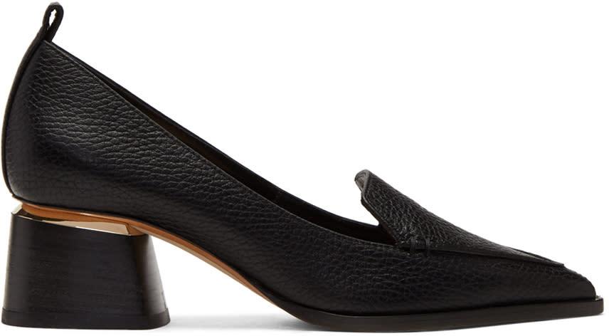 Image of Nicholas Kirkwood Black Beya Heels