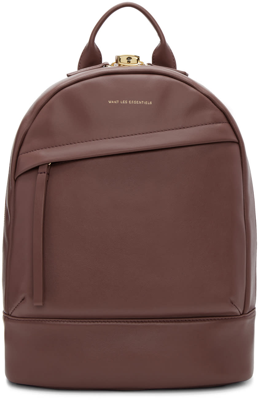 Image of Want Les Essentiels Pink Mini Piper Backpack