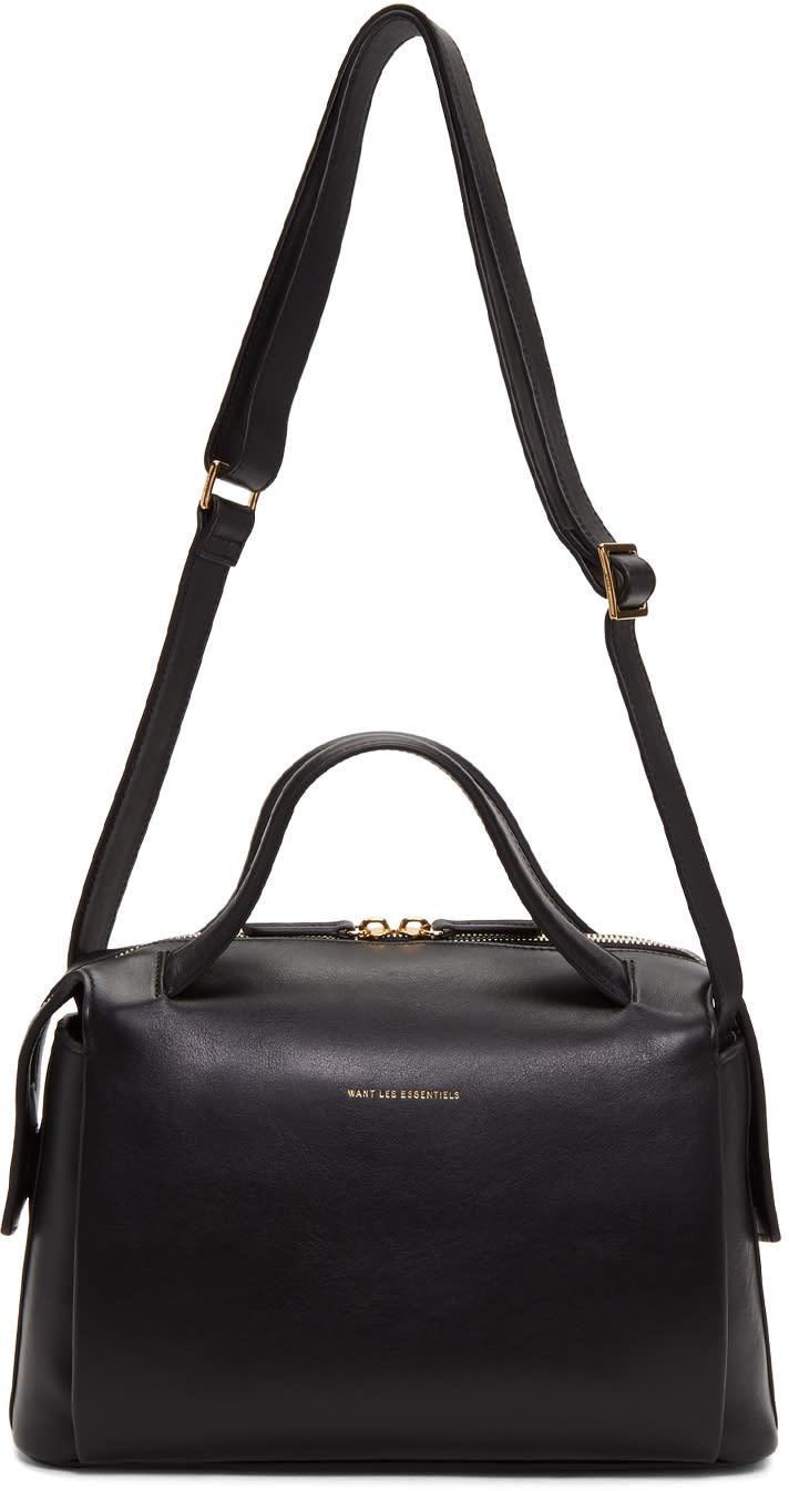 Image of Want Les Essentiels Black Maxi City Crossbody Bag